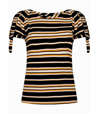 Tramontana D16-99-401  Top SS dark summer stripes   Blacks