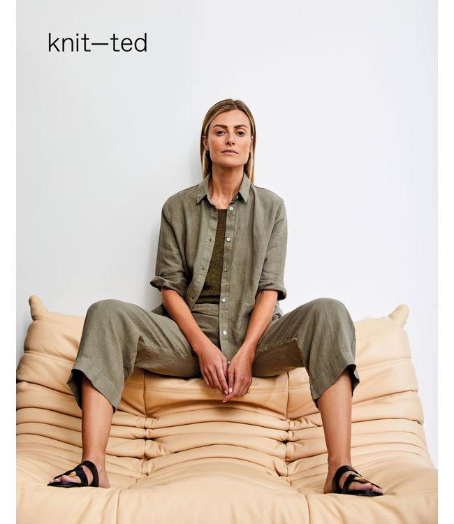 KNIT-TED essentials 211P77 Nathalie Khaki