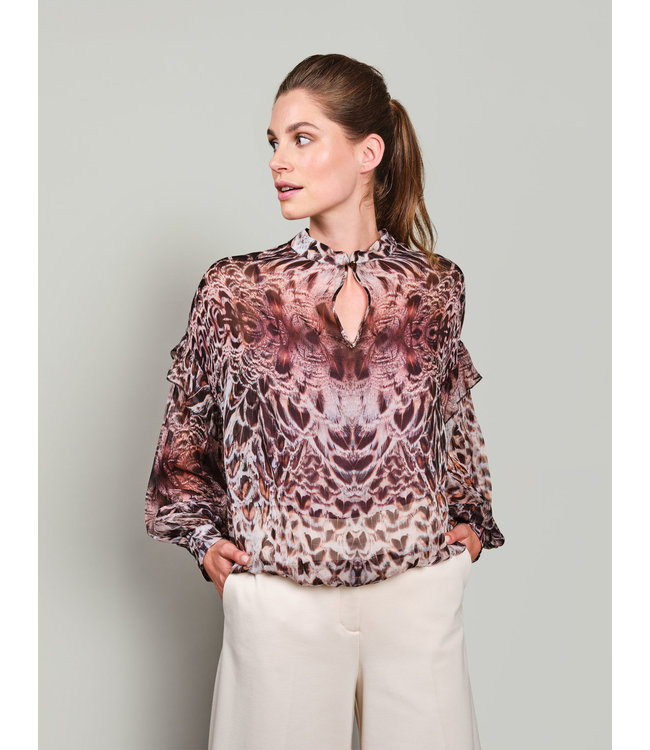 Summum Woman 2s2656-11504  Top feathers