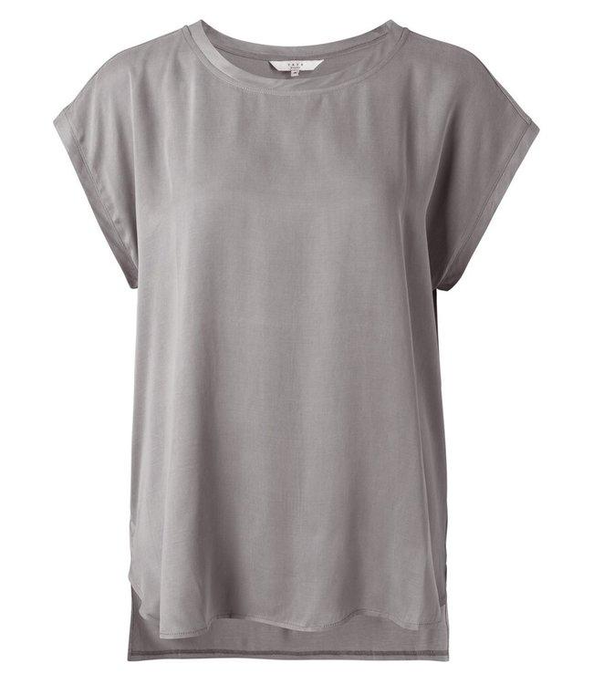 YAYA 1901116-121  Fabric mix top