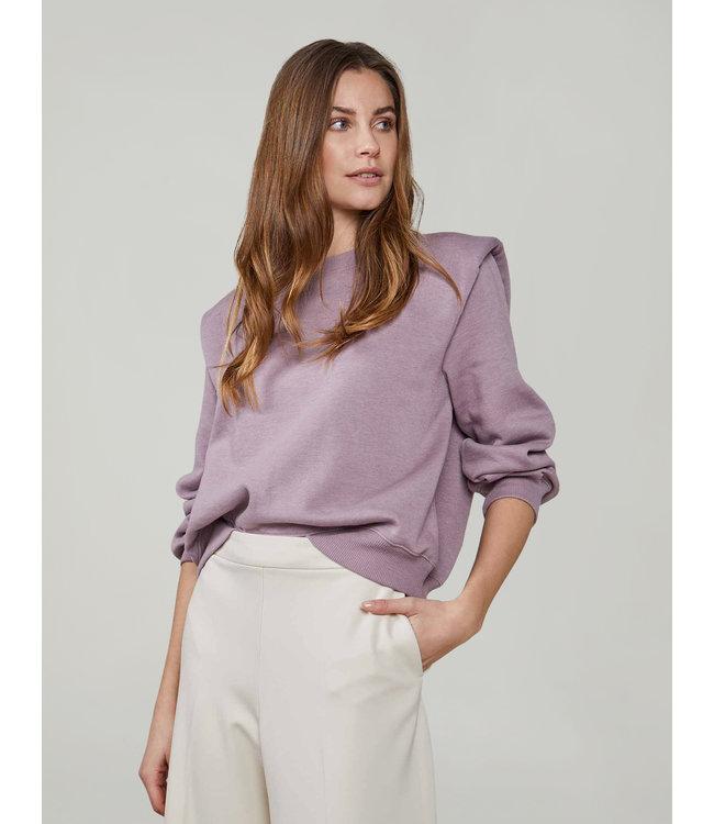 Summum Woman 3s4558-30263  Sweater padded shoulder soft sweat