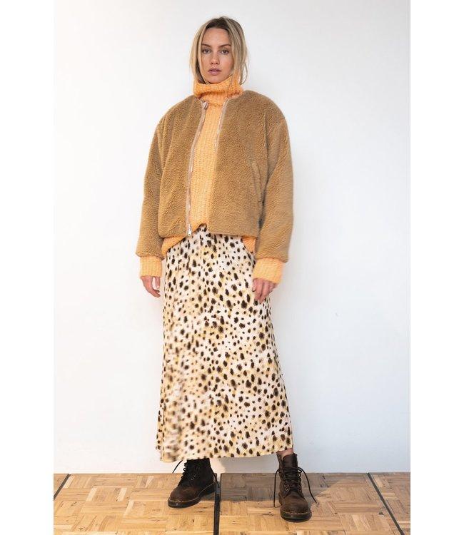 PENN&INK W21F952 skirt AOP