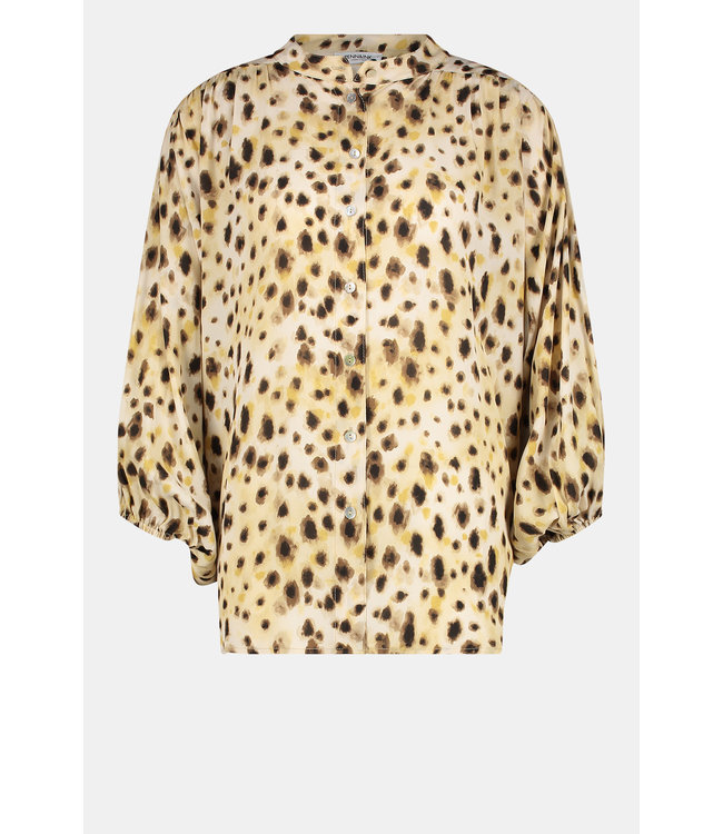 PENN&INK W21F951  blouse AOP