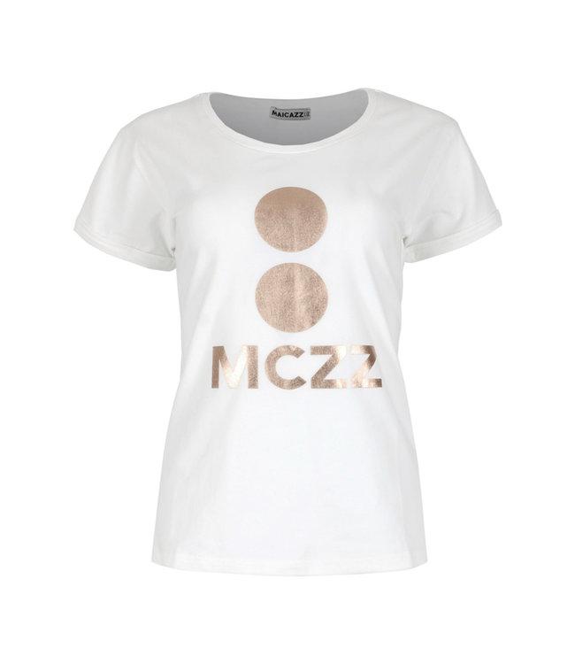 MAICAZZ FA21.75.004-offwhite  Veralie t-shirt