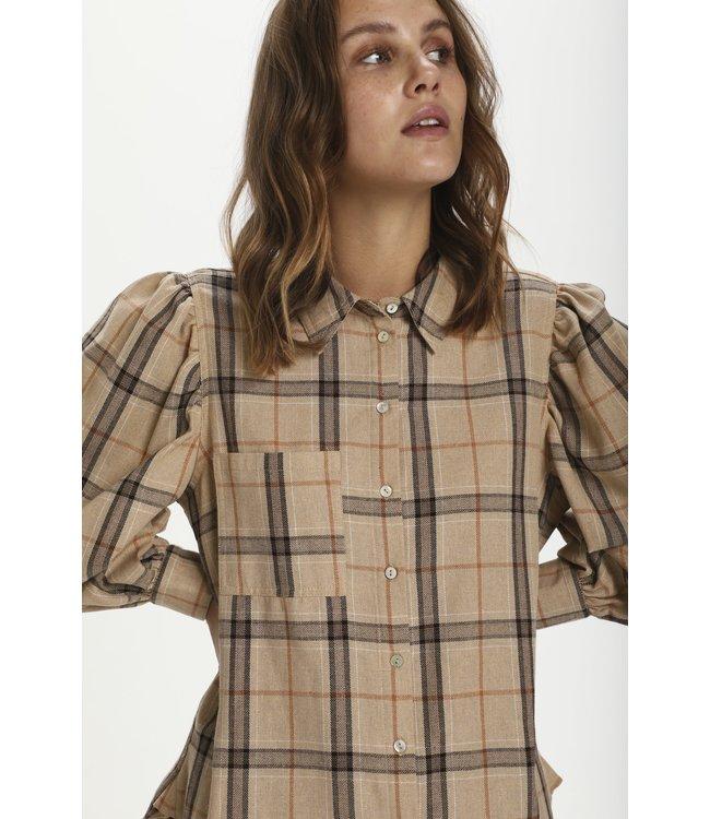 Saint Tropez 30511310-lighttaupe  Hubba blouse