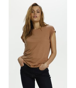 Saint Tropez 30501441 U1520, AdeliaSZ T-Shirt mocha mousse