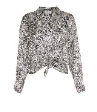 Les Favorites 5653114  Fien blouse snow white Leopard