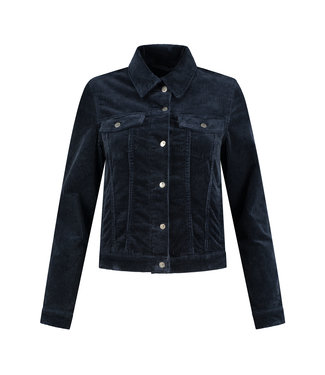 Para Mi FW211.104160-bluenight  Mae Jacket Vintage Corduroy