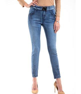 Bianco jeans 220413-blue  BOY FRIEND TROUSER