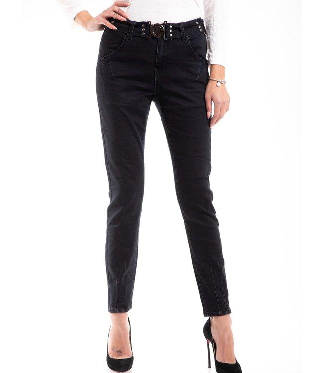 Bianco jeans 220413-black  BOY FRIEND TROUSER