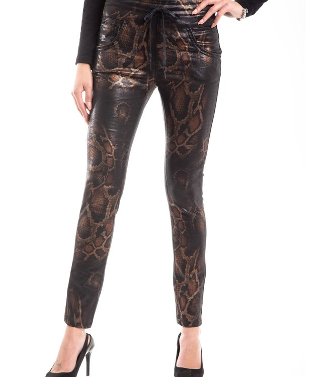 Bianco jeans 221721-SILVERBELL-GOLD  YOGA PULL UP