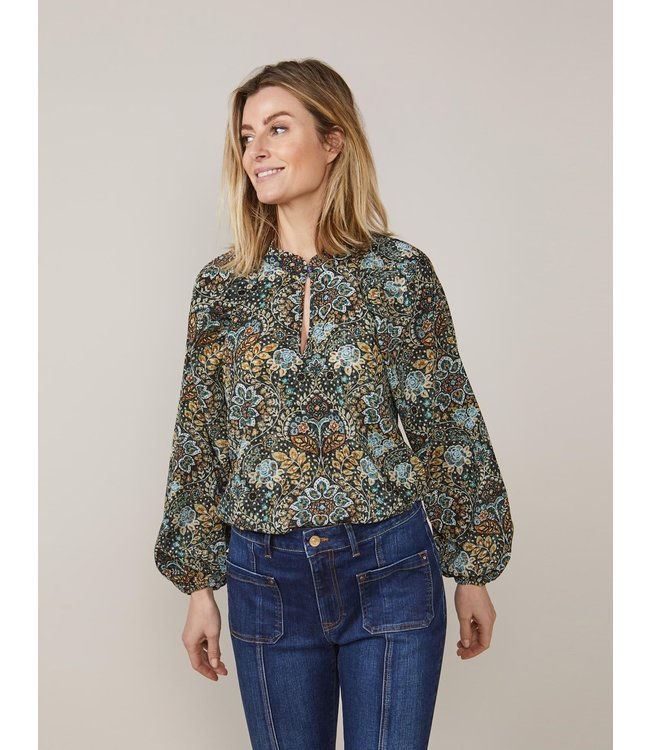 Summum Woman 2s2647-11514  Top flowers and leaves