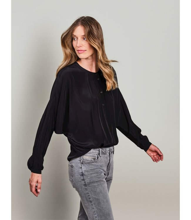 Summum Woman 2s2618-11508  Blouse bat sleeves fluid viscose