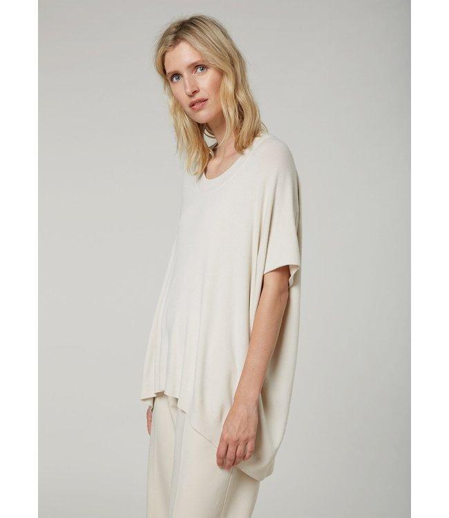 Summum Woman 7s5598-7830  Sleeveless oversized sweater basic knit