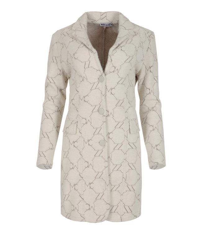 MAICAZZ FA21.10.001  Viana blazer Warn white