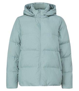 YAYA 1621029-123  Short puffer jacket with detachable hood