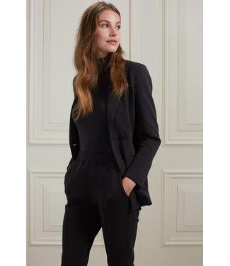 YAYA 1509091-122  Scuba blazer in a cotton blend fabric