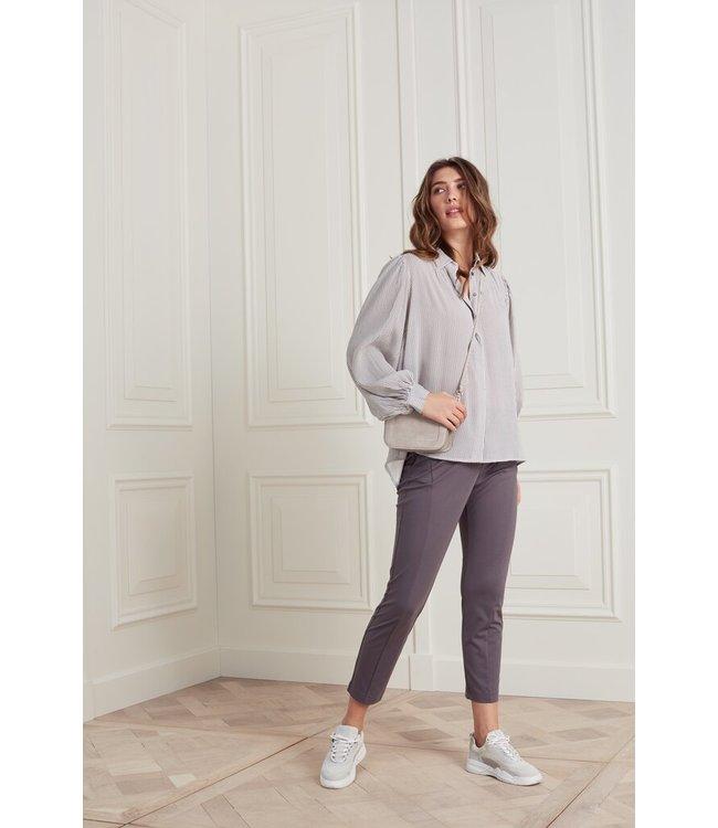 YAYA 1219082-121  Jersey stretch pant in Lyocell blend fabric