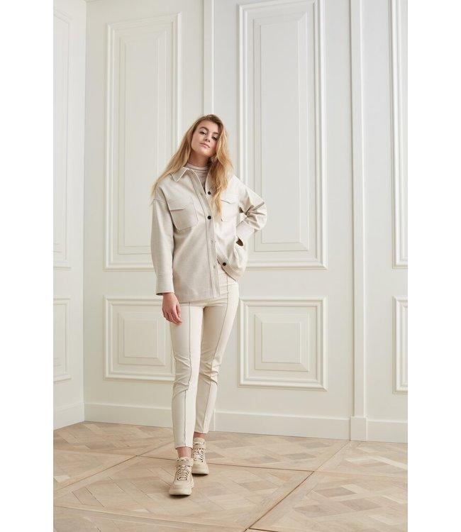 YAYA 1519035-122  Oversized Shirt jacket with pockets