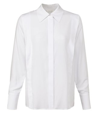 YAYA 1101245-122  Tailored blouse with shoulder detail