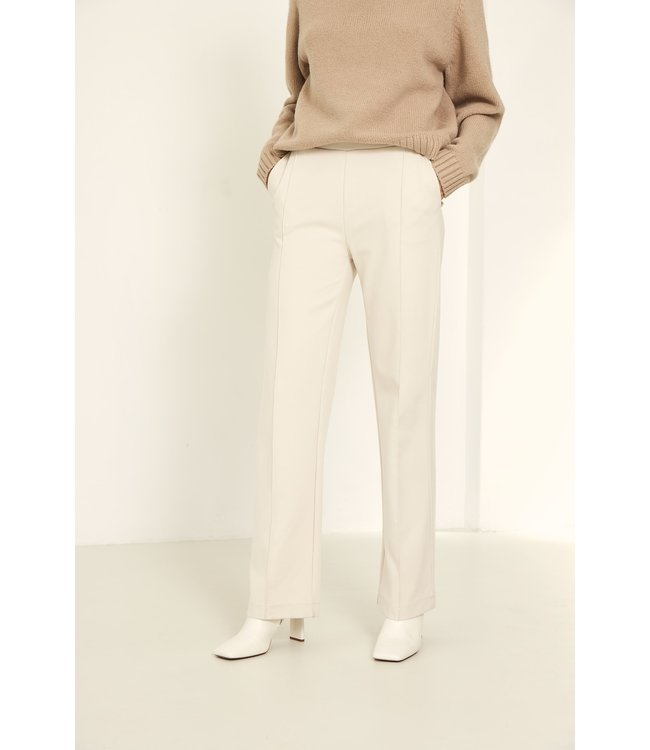 KNIT-TED essentials 212P72-vanilla  Floor Pants