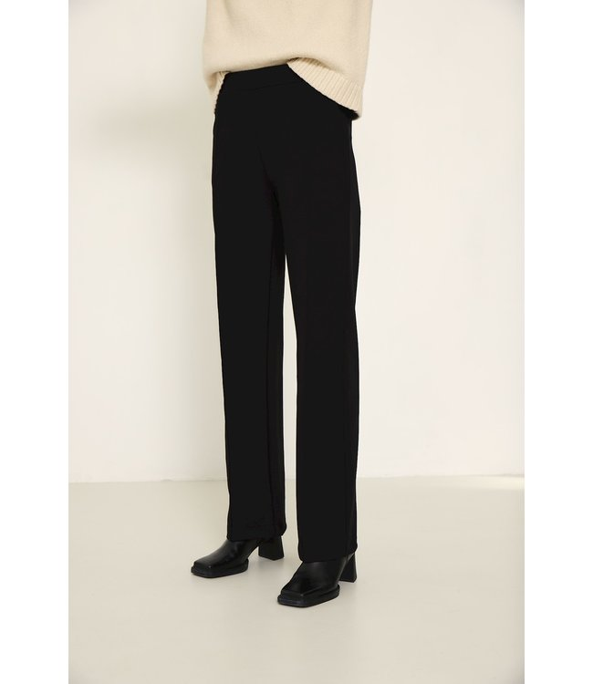 KNIT-TED essentials 212P72-black  Floor Pants