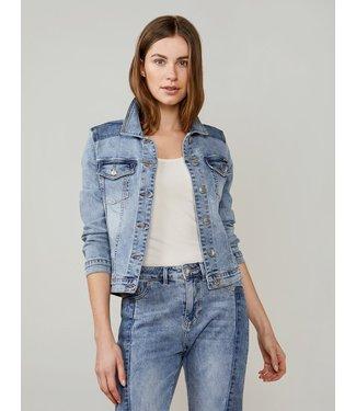Summum Woman 1s1033-5081  Basic denim jacket light weight organic cotton