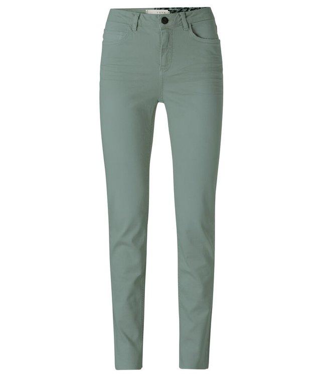 YAYA 1201201-123  Cotton straight colored jeans