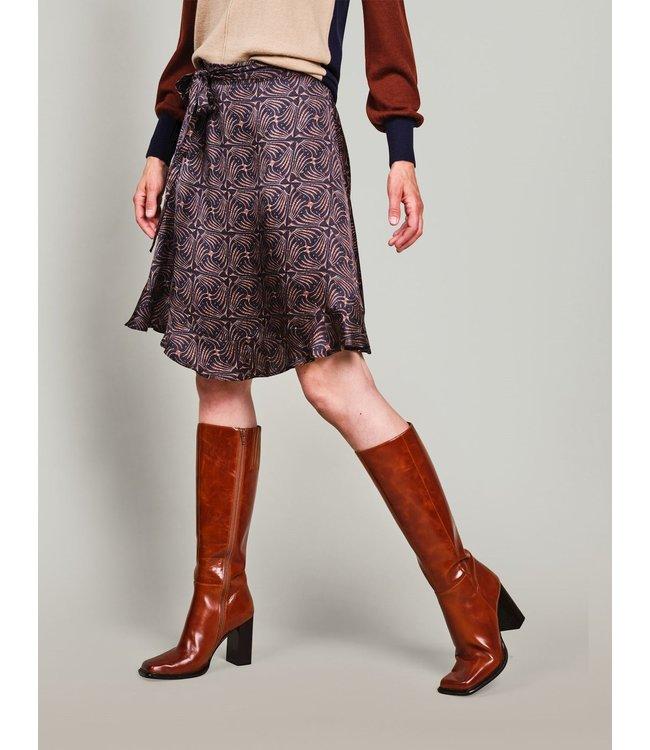 Summum Woman 6s1211-11524  Skirt art deco print