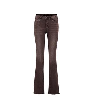 Florez Flare-brown  Jeans