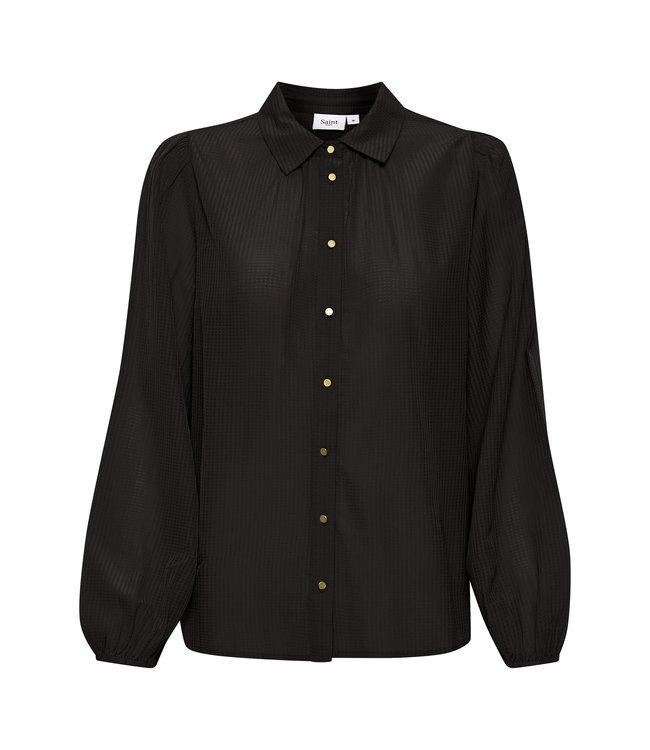 Saint Tropez 30511395 IsoldeSZ Shirt black