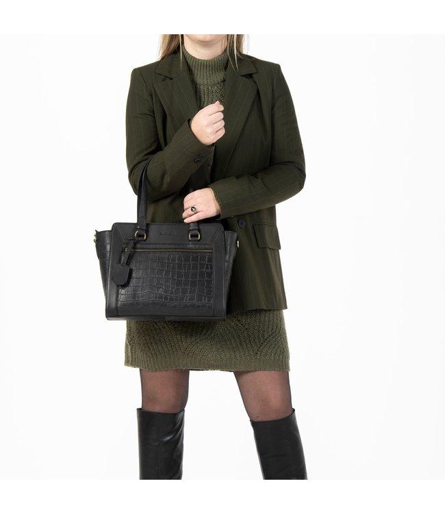 Burkely 1000123.29.10  Handbag S  Zwart