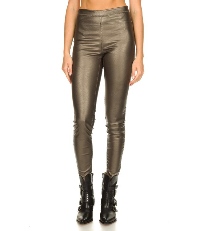 KNIT-TED essentials 212P45-bronze  Amber Pants