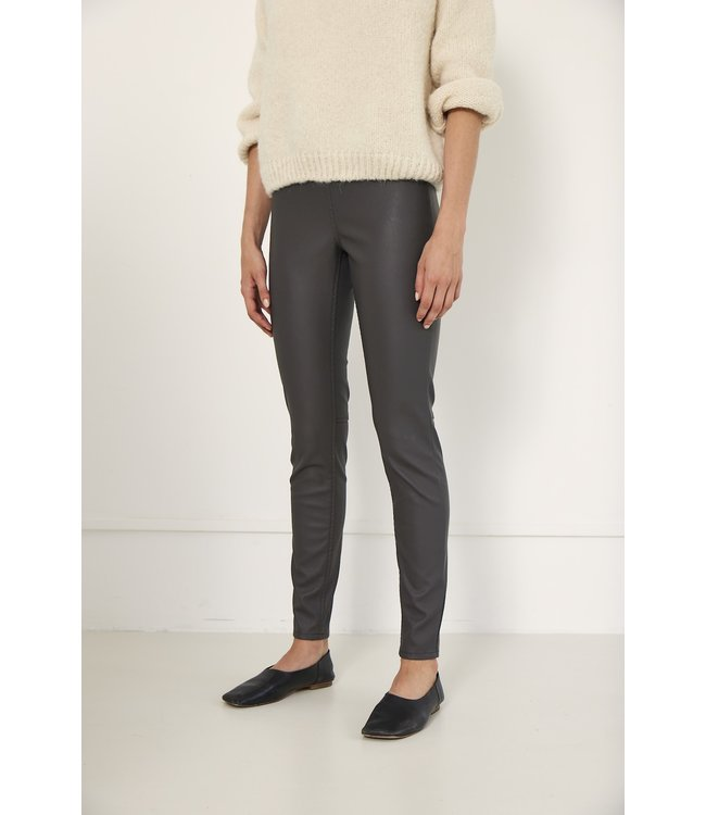 KNIT-TED essentials 212P45-grey  Amber Pants