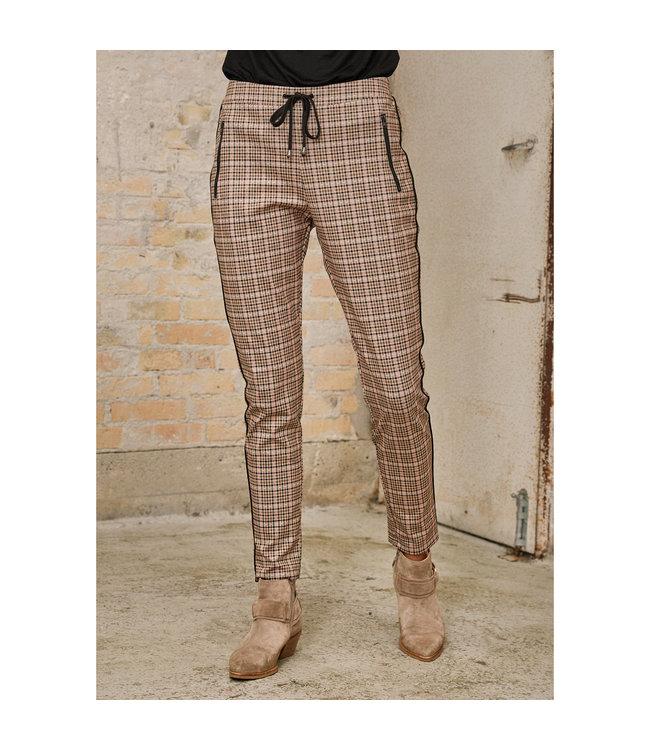 I Say 56559  Havana Check Pant