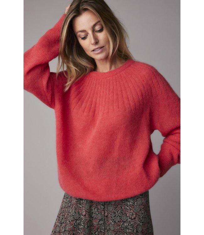 Summum Woman 7s5632-7858  Sweater feather light alpaca knit