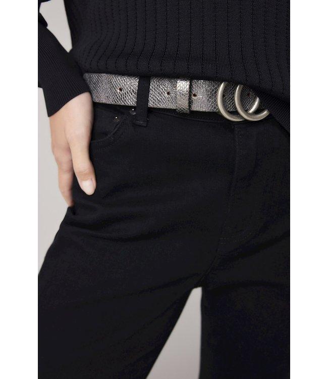 Summum Woman 8s777-8404  Metallic python belt