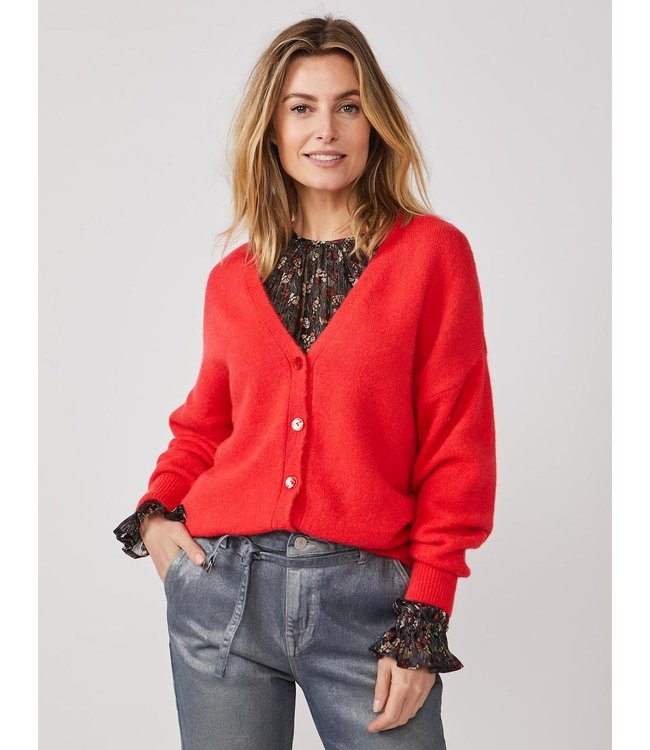 Summum Woman 7s5625-7855  Cardigan wool elastane knit