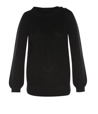 Les Favorites 8553102  Beau cotton knit Black