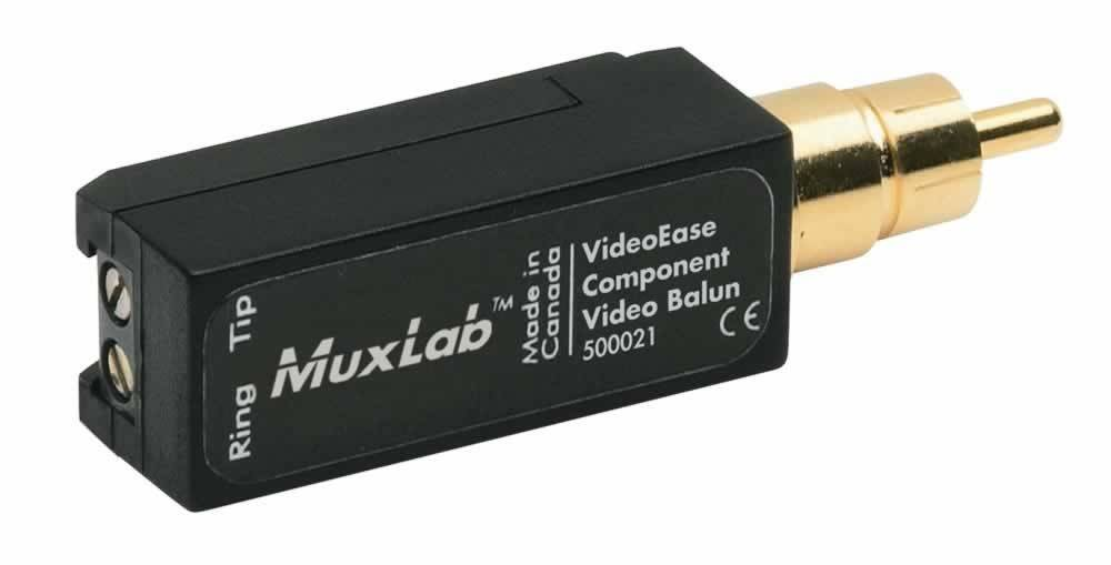 MuxLab Component video over UTP