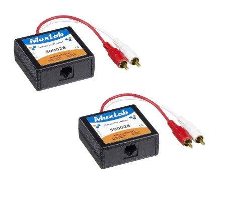 MuxLab 2PK Stereo HIFI balun 2-PACK