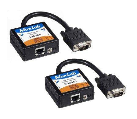 MuxLab 2-PK VGA extender set (40+42)