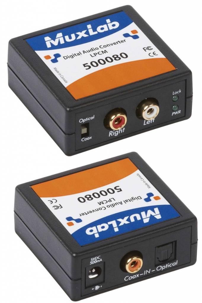 MuxLab Digital Audio Converter