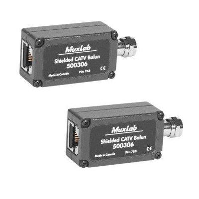 MuxLab 500306-2PK Kabel TV over UTP (2-pack)
