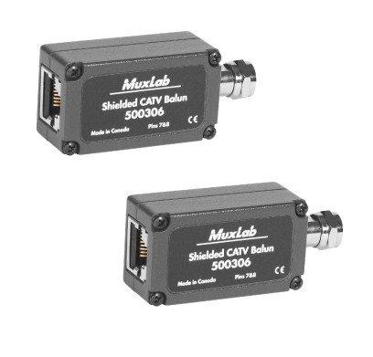 MuxLab 2PK Kabel TV over UTP (2-pack)