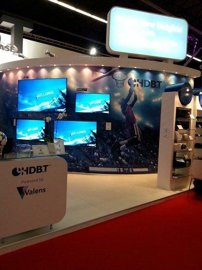 HDBaseT op de ISE 2014