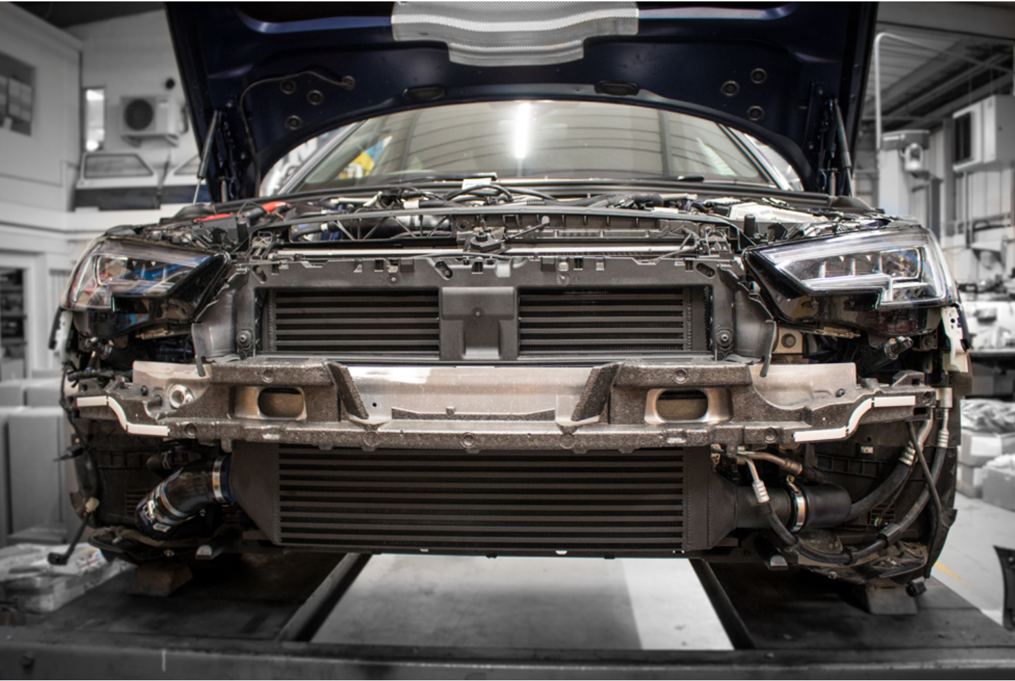Forge Intercooler S4 mounted