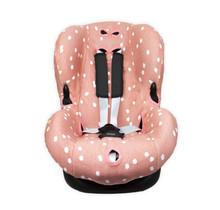 Autostoelhoes 1+ Spots Grijs Pink