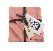 Hydrofiel Washandje Uni Pink