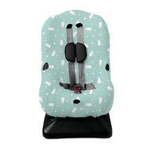 Autositzbezug 1+ Miffy Sterne Jade